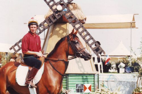 Naira (Argon x Nutria by Topol) - top-class racehorse and the dam of the world-famous Robbie (by Makzan) - Winner of 11 Group I races